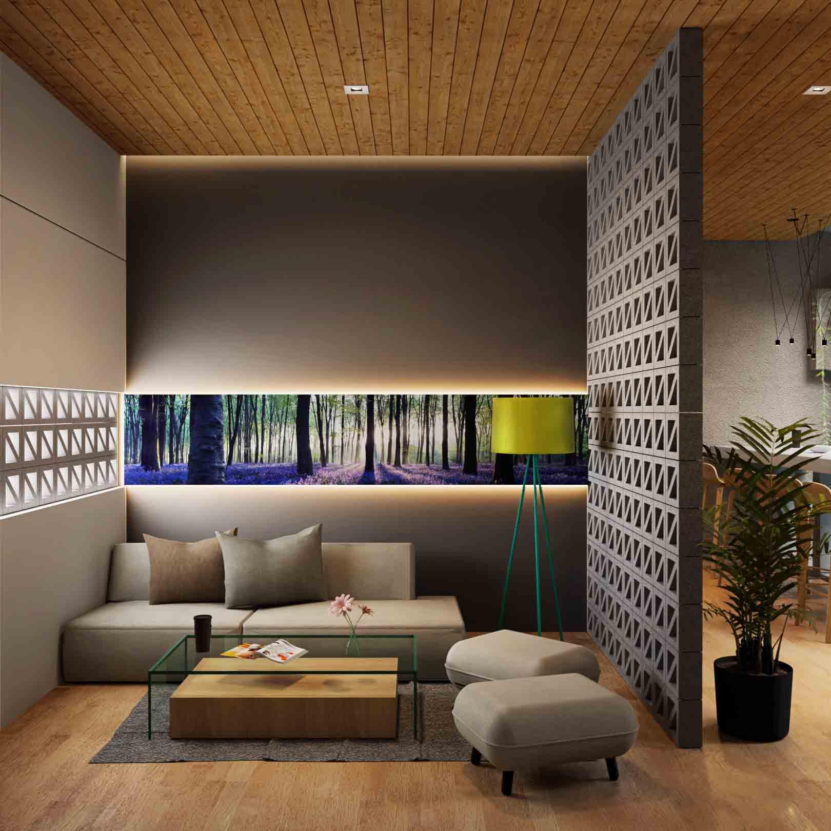interior ruang tamu